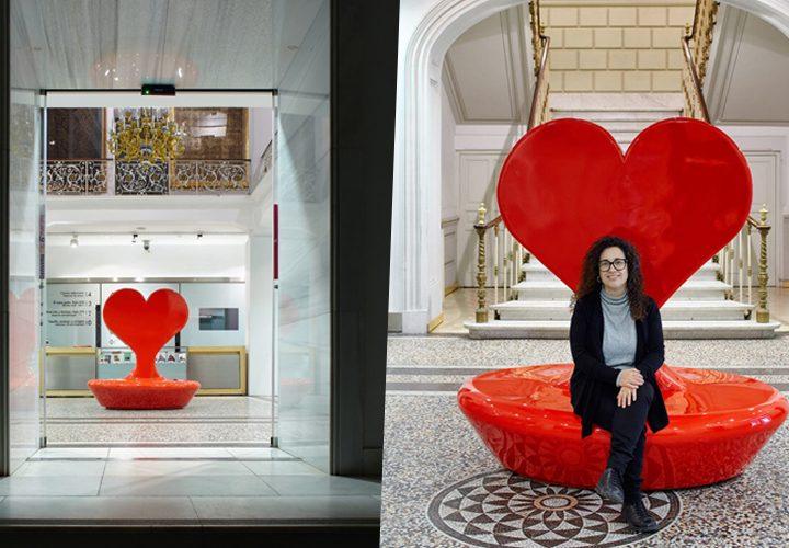 """Adaequo realiza el """"banco del amor"""" con impresión 3D de gran formato"""